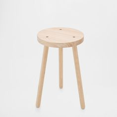 Image of the product LOW WOODEN STOOL