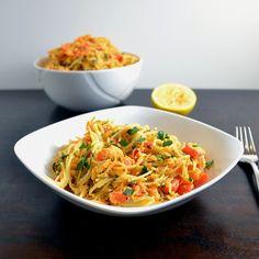 Sweet Potato Red Pepper Pasta | windykitchen
