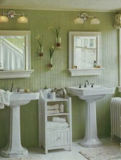 A bit too country for me, but I love the sinks and general feel.