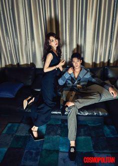 Park Ha Sun and Ha Suk Jin of 'Drinking Alone' show their chemistry in 'Cosmopolitan' http://www.allkpop.com/article/2016/08/park-ha-sun-and-ha-suk-jin-of-drinking-alone-show-their-chemistry-in-cosmopolitan #parkhasun #hasukjin #drinkingalone