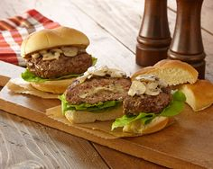 Sautéed mushrooms and onion with a little Swiss cheese are stuffed in hamburger patties to create an exciting twist on a classic flavor combination. Click here to see the 10 Top Tailgating Recipes