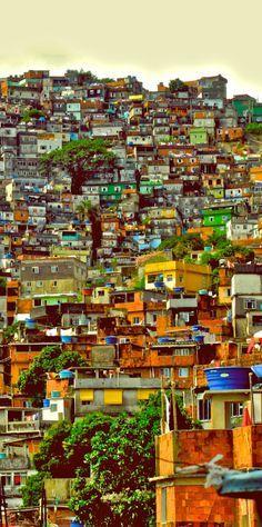 Favela in BRAZIL