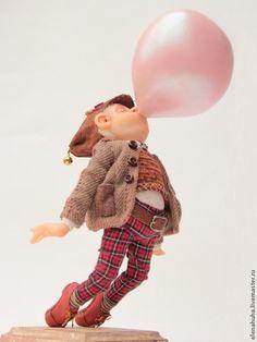 Авторская кукла - Big bubble. Handmade.