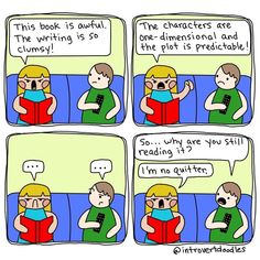 10+ Comics Only Book Lovers Will Understand