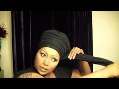 Head wrap tutorial by Atarah (Born crown) - YouTube