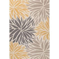 Mystique Hand-Tufted Gray Area Rug