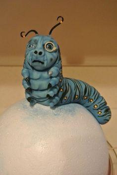 Absolem Caterpillar Tutorial - Tutorial - Cake Central