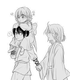 Akatsuki no Yona ♥ (Yona of the Dawn) ♡ Yona, Hak, and Soo-won