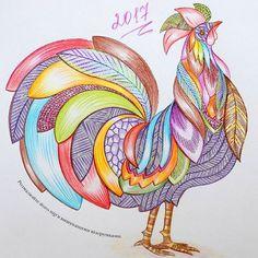 Вихiдний пройшов продуктивно - у мене вийшов веселковий пiвник #розмальовкаантистрес #миллимаротта #розмальовка #milliemarotta #барвистийсвіт #antistress #colorful #coloringbook #coloring