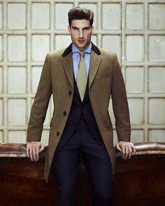Dramatic coat. Nice.