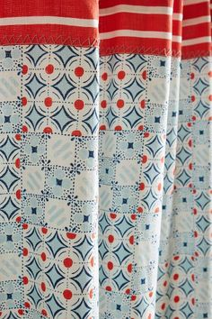 Piastrella Shower Curtain - anthropologie.com