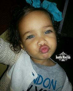 Amiyah - 1 Year • Puerto Rican & Cape Verdean ❤ FOLLOW @beautifulmixedkids on instagram WWW.STYLISHKIDSAPPAREL.COM
