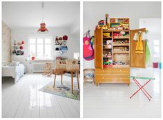 How about these lovely rooms for kids!
