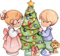Imágenes tiernas navideñas
