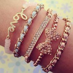 lovely bracelet #love #cute