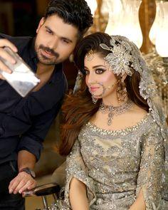Awesome Bridal Photoshoot of Alizeh Shah for Kashees Shadi Dresses, Pakistani Dresses Casual, Pakistani Wedding Dresses, Indian Wedding Outfits, Bridal Outfits, Pakistani Bridal Hairstyles, Pakistani Bridal Makeup, Bridal Lehenga, Indian Bridal