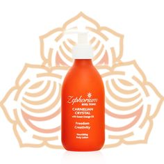Our organic body lotion blended with sweet orange oil, aromatherapy, carnelian crystal energy and aligned to the sacral chakra. Hand made with positive intention. Frankincense Oil, Citrus Oil, Aloe Leaf, Olive Fruit, Sacral Chakra, Orange Oil, Aromatherapy Oils, Body Lotions