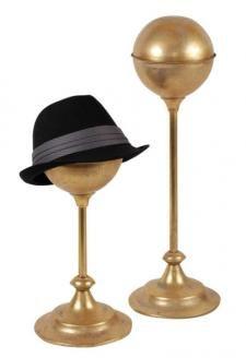 Large Hat (Millinery) Display - Rustic Gold | Eddie's Hang-Up - Vancouver, Edmonton, Calgary, Canada