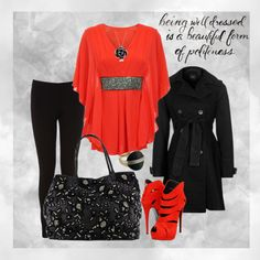 """""""being red"""" by pyroprincess on Polyvore"""