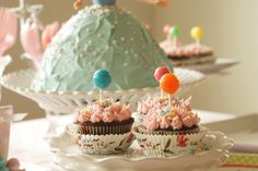 lollipop cakes by nanaCompany, via Flickr