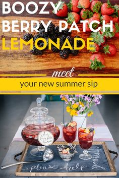 HGTV Happy Hour: Boozy Berry Patch Lemonade >>  http://www.hgtv.com/design-blog/entertaining/hgtv-happy-hour--boozy-berry-patch-lemonade?soc=pinterest