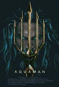 He is Aquaman Dc Comics Art, Aquaman 2018, Dr Fate, Jason Momoa Aquaman, Dc World, Films Cinema, Hawkgirl, Dc Movies, Aquaman Film