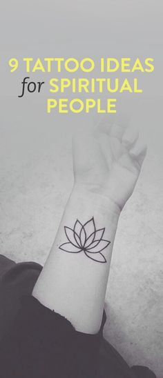 9 tattoo ideas for people who are spiritual