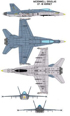 McDonnell Douglas CF-18 Hornet by =bagera3005 on deviantART