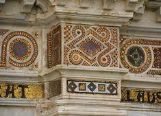 Римская и византийская мозаика - Клуатр базилики Сан-Пауло-Фуори-ле-Мура, Рим