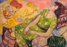 Retro (2010) Oil painting by Olga Sushkova | Artfinder