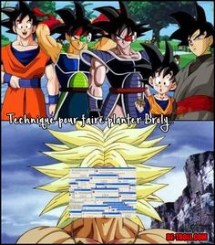 Broly would loose his mind Black Anime Characters, Dbz Characters, Dbz Evolution, Dragon Ball Z, Akira, Manga Anime, Video Humour, Humor Videos, Goku And Gohan