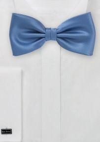 Classic Blue Bow Tie