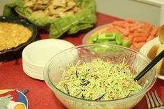 Quick and Crunchy Broccoli Coleslaw | BettyCupcakes.com #broccoli #coleslaw