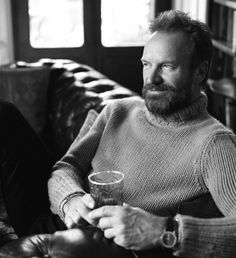 Sting  Source: kued.org  #Sting #menswear #style
