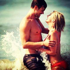 Safe Haven! Gotta love Nicholas Sparks...and Julianne Hough!