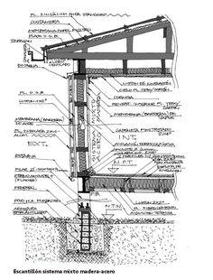Galería de 17 Escantillones de Sistemas Constructivos que te ayudarán a materializar tus proyectos - 15