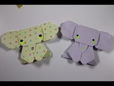 How to Origami Animal : Elephant - YouTube