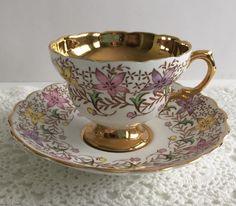 Rosina China Tea Cup & Saucer