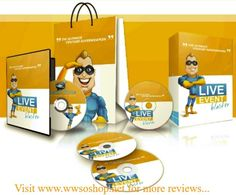 Marketing Software And Tools Internet Marketing, Online Marketing, Marketing Software, Training Software, Youtube Live, Video Advertising, Live Events, You Videos, Online Business
