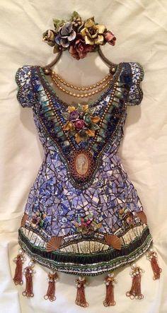 Susan Wechsler's Mosaic Memory Dresses..