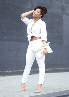 Fresh White Shirley's Wardrobe