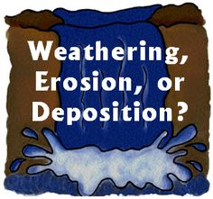 Weathering, Erosion, or Deposition? Strategies for teaching students how landforms are created through weathering, erosion, and deposition. Includes free cooperative learning sorting activity from Laura Candler.