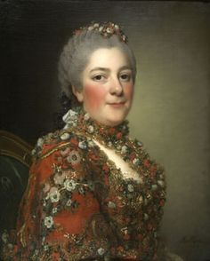 She who pwns people with history, Portrait of Madame Victoire by Alexander Roslin.