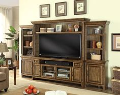 72in Entertainment Wall Riverbend by Parker House PHRIV-172-4