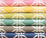 Octagon fabrics  from Smith and Noble