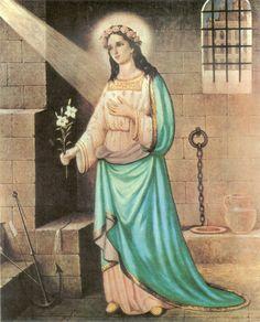 St. Philomena. Beautiful Catholic Holy Cards - Retronaut