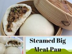 Are you looking for a soft and fluffy steamed big meat bun / pau recipe? Here is the failed-proof recipe for a palatable and delicious 黑胡椒肉包.