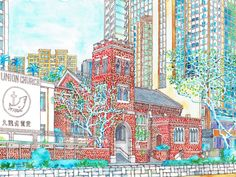 Union Church  /  Kiyoko Yamaguchi Artworks