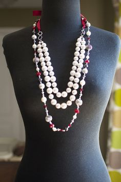 De La Creme necklace with Hot Hot Hot  necklace. Premier Designs jewelry