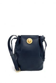 f6c86215eb11 Vintage Celine Drawstring Bag by Vintage Heirloom Leather Products